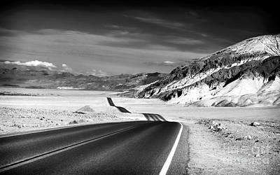 Photograph - Badwater Road by John Rizzuto