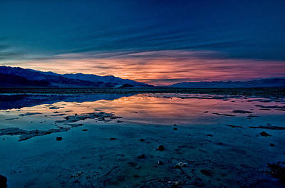 Photograph - Badwater Sunset by Cat Connor