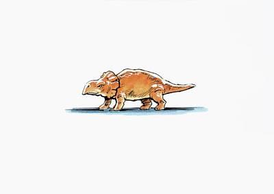 Paleozoology Photograph - Bagaceratops Dinosaur by Deagostini/uig