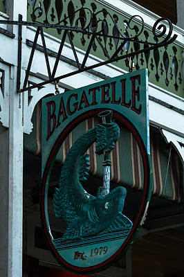 Photograph - Bagatelle by Ed Gleichman