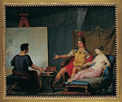 Of Painter Photograph - Bagatti Valsecchi Pietro, Apelles by Everett