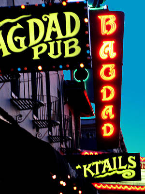 Bagdad Pub Art Print by Gail Lawnicki