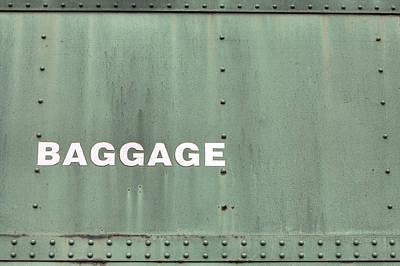 Photograph - Baggage by JC Findley