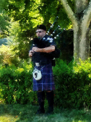 Photograph - Bagpiper by Susan Savad