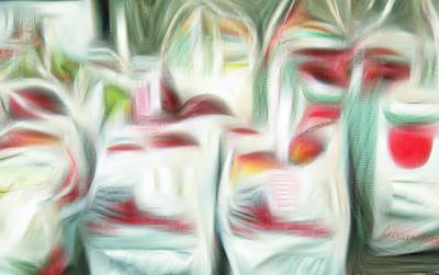 Digital Art - Bags Of Apples by Bob Pardue