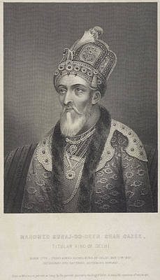 Deen Photograph - Bahadur Shah II by British Library