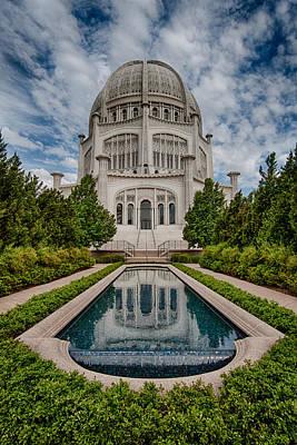 Bahai Photograph - Bahai Temple by Mike Burgquist
