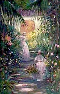 Bahama Garden Art Print