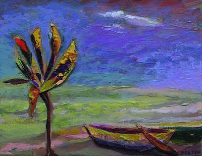 Bahamas Dreaming... Print by Julianne Felton