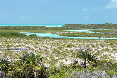 Cay Photograph - Bahamas, Exuma Island, Cays Land by Jaynes Gallery
