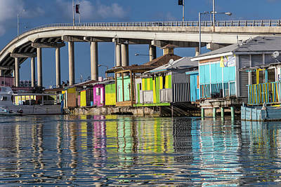 Shack Photograph - Bahamas, Nassau Vendors' Shacks by Jaynes Gallery