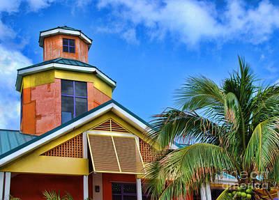 Bahamas Pier Photograph - Bahamas Pastels by Alexandra Jordankova