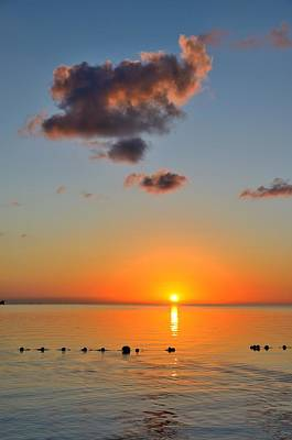 Photograph - Bahamas Sunrise 1 by Steven Richman