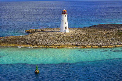 Photograph - Bahamian Lighthouse by Greg Norrell