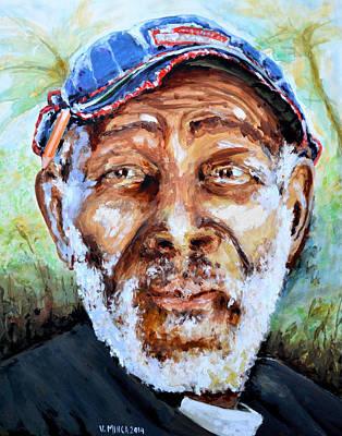 Bahamian Old Man Art Print