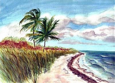 Painting - Bahia Honda State Park by Clara Sue Beym