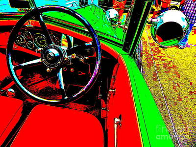 Photograph - Bahre Car Show 193 by George Ramos