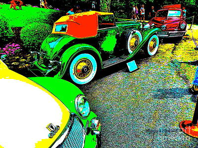 Photograph - Bahre Car Show 202 by George Ramos