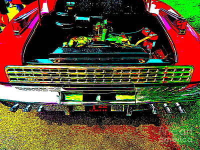 Photograph - Bahre Car Show 205 by George Ramos