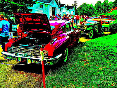 Photograph - Bahre Car Show 209 by George Ramos