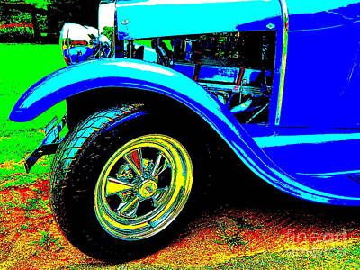 Photograph - Bahre Car Show 220 by George Ramos