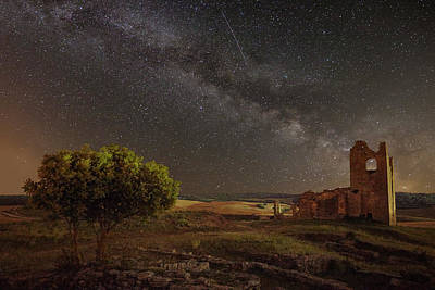 Castle Ruins Wall Art - Photograph - Baigorri (navarre) Spain by Martin Zalba