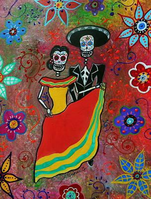 Bailarina Painting - Bailar Couple by Pristine Cartera Turkus