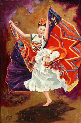Painting - Bailarina by Luz Perez