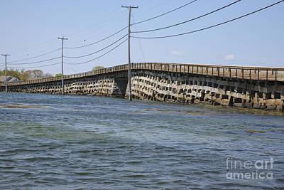 Bailey Island Bridge - Harpswell Maine Art Print by Erin Paul Donovan