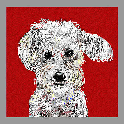 Digital Art - Bailey by Joyce Goldin