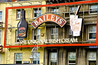 Photograph - Baileys Irish Cream by Charlie Brock