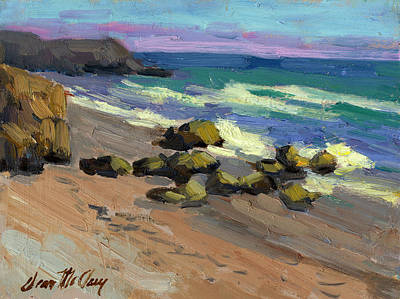 Baja Painting - Baja Beach by Diane McClary