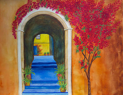 Painting - Baja Bougainvillea  by Patricia Beebe