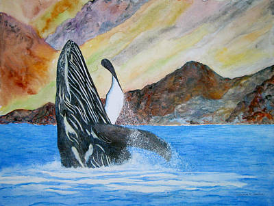 Painting - Baja Breach by Patricia Beebe