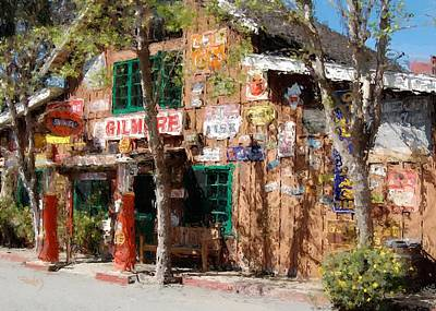 Digital Art - Baja Cantina - Carmel Valley Ca by Jim Pavelle