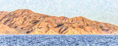 Photograph - Baja Panorama by Liz Leyden
