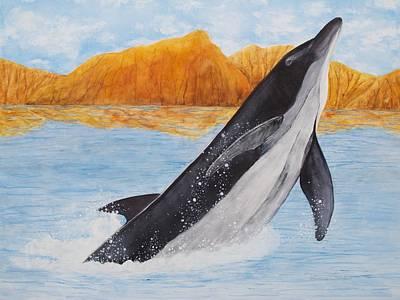 Sea Of Cortez Painting - Baja Splash by Patricia Beebe