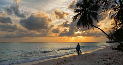 Waterscape Photograph - Bajan Fisherman by Garvin Hunter