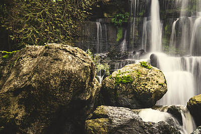 Photograph - Bajouca Waterfall V by Marco Oliveira