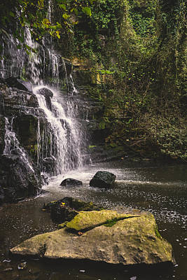 Photograph - Bajouca Waterfall Ix by Marco Oliveira