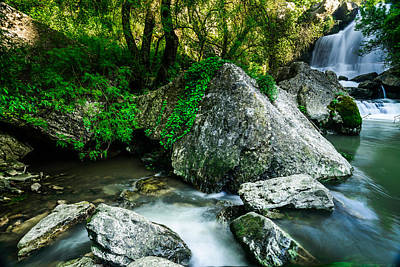 Photograph - Bajouca Waterfall by Marco Oliveira