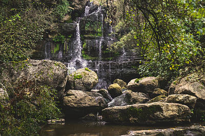 Photograph - Bajouca Waterfall Vi by Marco Oliveira