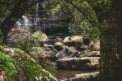 Photograph - Bajouca Waterfall Vii by Marco Oliveira