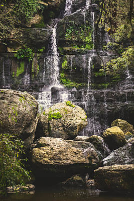 Photograph - Bajouca Waterfall Viii by Marco Oliveira