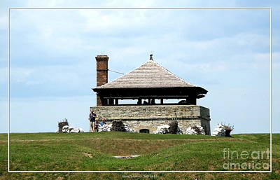 War Of 1812 Photograph - Bake House At Old Fort Niagara 2 by Rose Santuci-Sofranko