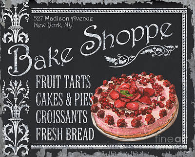 Bake Shoppe Art Print