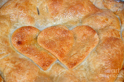 Photograph - Baked Hearts by Debra Thompson