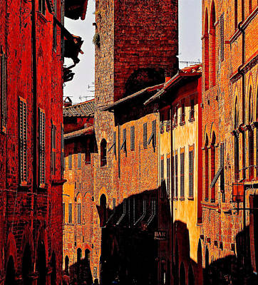 Baked In The Tuscan Sun Art Print by Ira Shander