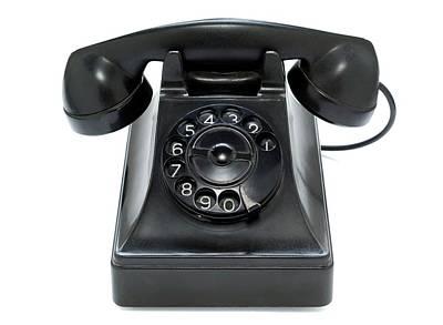 Bakelite Telephone Art Print by Daniel Sambraus