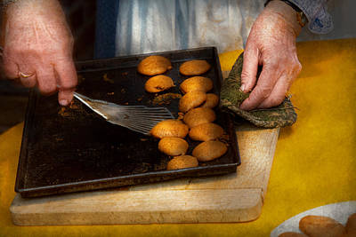 Ginger Snaps Photograph - Baker - Food - Have Some Cookies Dear by Mike Savad